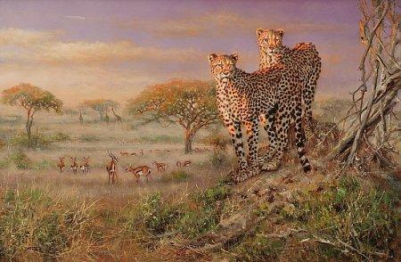 Дикие животные от художника Eric Forlee