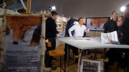 """Выставка """"Лисы Камчатки"""" на французском фестивале Montier-en-Der"""