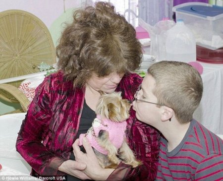 Собака Люси - самая маленькая служебная собака в мире