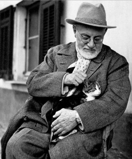 Знаменитые художники и их любимые коты (14 фото)
