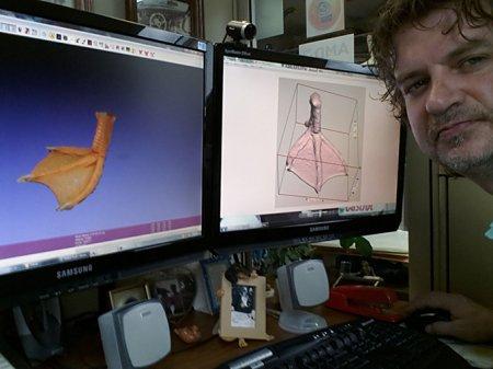Новая лапка для утки, напечатанная на 3D-принтере (9 фото)