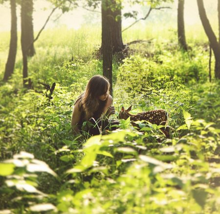 Эмили и малышка Миа (14 фото)