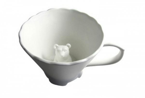 Посуда HiddenAnimalTeacup (11 фото)