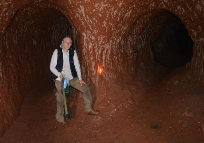 Гигантские древние ленивцы рыли огромные подземные норы