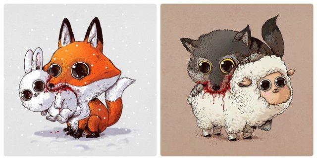 Как рисовать самых милых животных — Kazan-avon: http://kazan-avon.ru/?p=91
